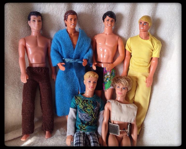 6 Male Dolls